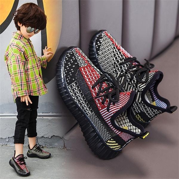 air maille baskets enfants pour filles garçons enfants courir chaussures de sport occasionnels tenis antidérapantes infantil chaussures enfants bébé