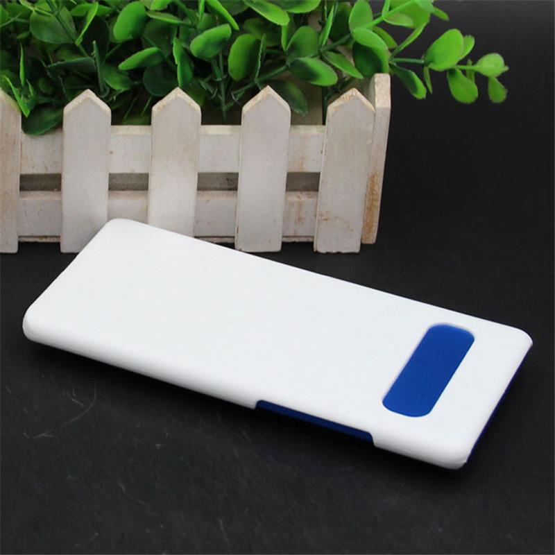 Blank 3D Sublimation PC Cassa del telefono PC per Samsung S21 S21Plus S21ULtra A21 A51 A71 M20 M31 S8 S9 S10 S20 con inserti in alluminio Spedizione veloce