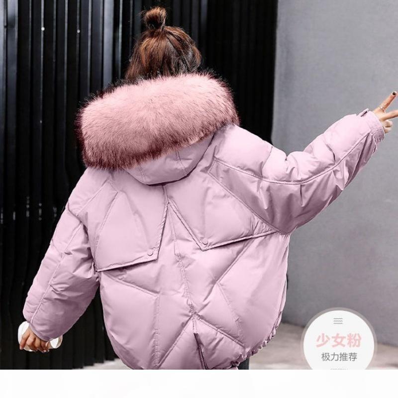 Giacca invernale invernale inverno giacca da donna per le donne tuta sportiva da donna Parka pelliccia con cappuccio in cotone con cappuccio in cotone imbottito cappotto femminile caldo outwear
