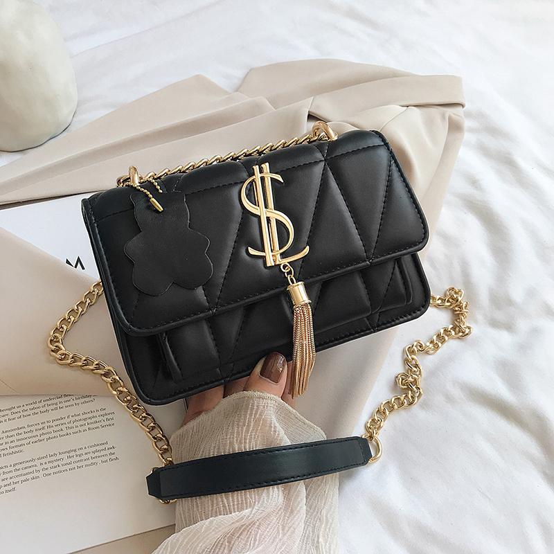 HBP Bolsas de Luxo Mulheres Sacos Designer Mulheres Bolsas De Couro SAC A Principais Borla Crossbody Bolsas Para As Mulheres Ombro Bag Cadeias Novo