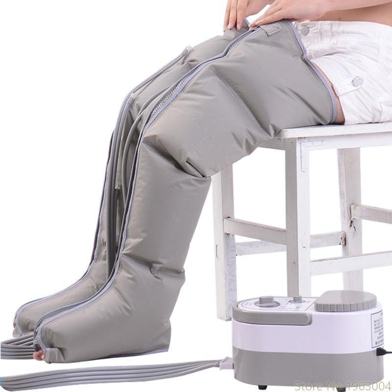 Pneumatica del piedino di massaggio impastamento del piede di massaggio del piedino strumento elettrico Aria onda di pressione Fisioterapia Massaggi