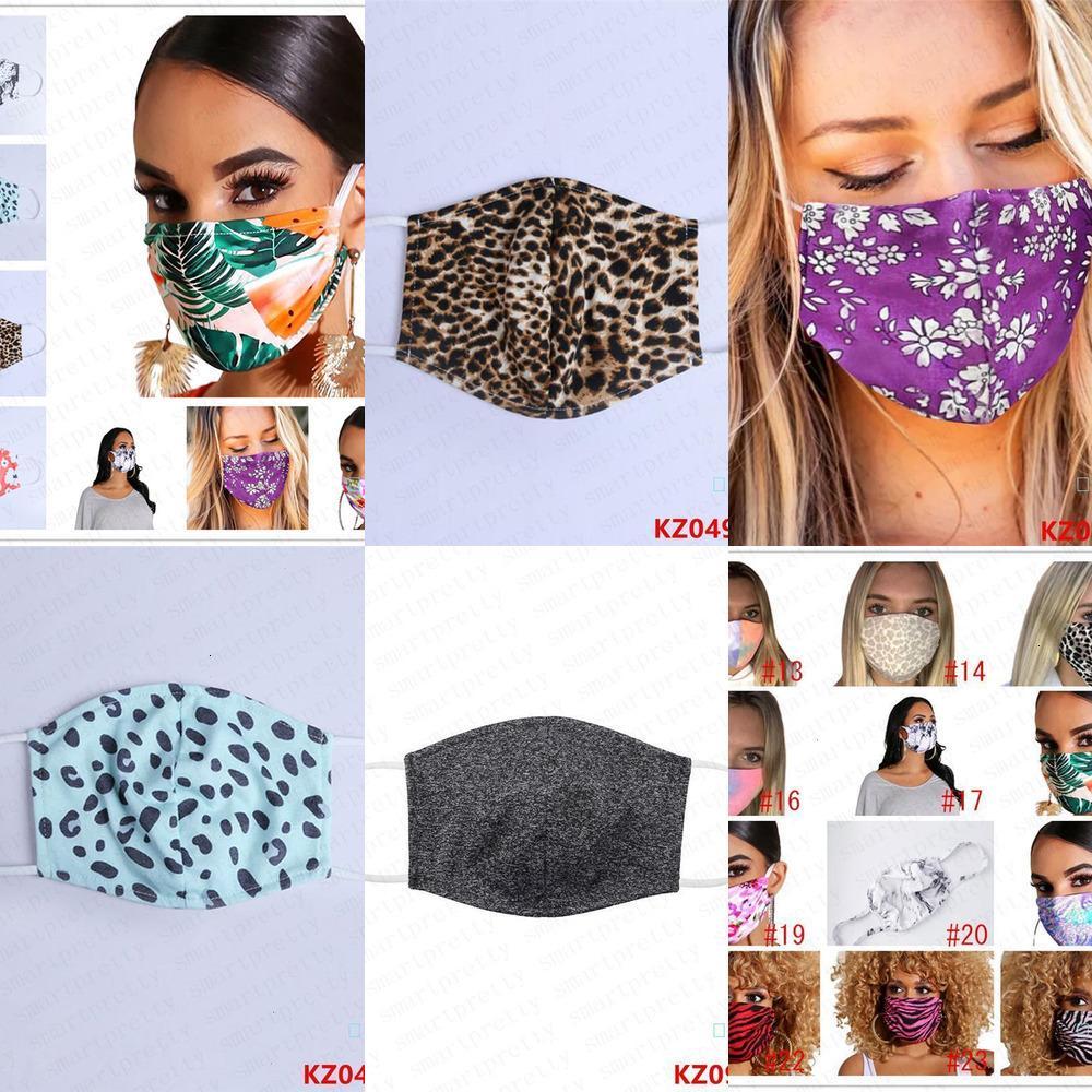 Cotton PM2.5 Unisex stampa Fa protezione antipolvere antipolvere Maschera traspirante Nebbia Prevenzione Haze saliva della bocca-muffola copertina D42407