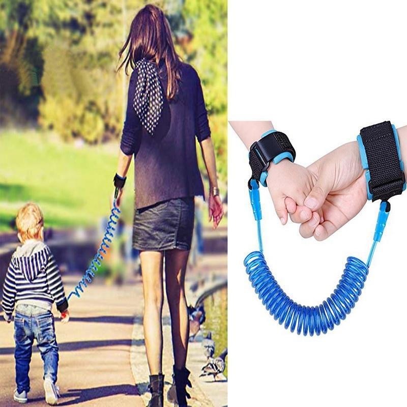 Jump Ropes Child Anti Lost Wrist Adjustable Safety Harness Exercise Workout Baby Strap Rope Outdoor Walking Hand Belt Band