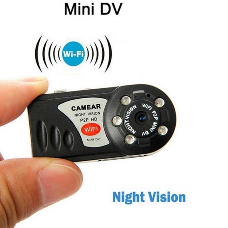 Mini Câmeras Q7 Câmera WiFi HD Vídeo Camcorder Wireless DV DVR IR Noite Vision Cam Recorder Infrared Micro Home Segurança
