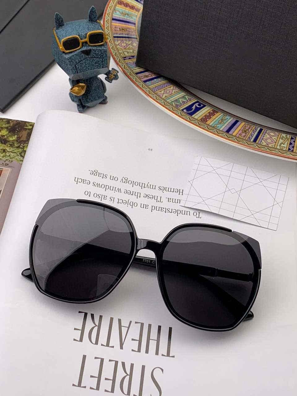 UV400 Goggle Box Luxury- Óculos de Sol Marca de Verão Óculos de Verão Das Mulheres D06088 2 cores altamente com designer Qualidade VWHLH