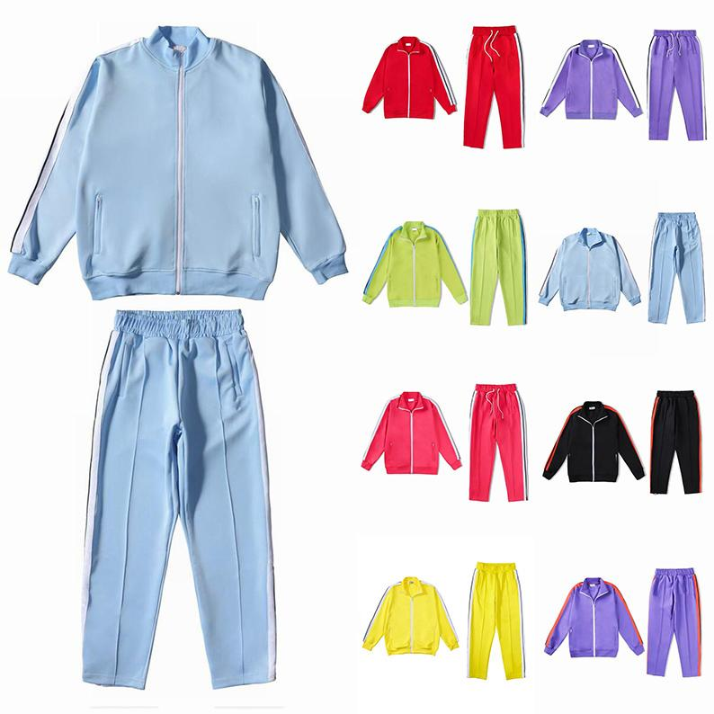 NUEVO 2021 Hombres para mujer Trajes de chándals Sudaderas Trajes Hombres Track Sweat Suit Abrigos Hombre diseñadores Chaquetas Sudaderas con capucha Pantalones 21ss Sudaderas Sportswear
