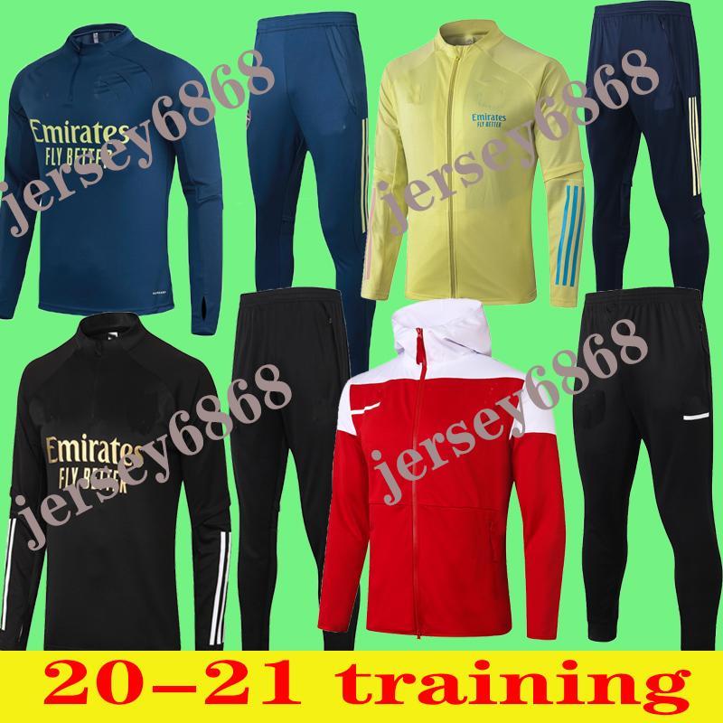 2020 2021 Polo ARS Mesut Giroud à long manches courtes Survêtements jersey de football T-shirts PEPE formation costumes veste de football