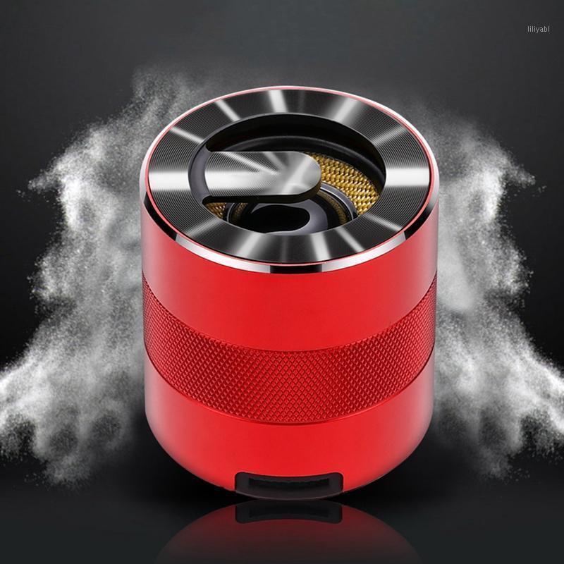 Alto-falantes da estante A9 Mini Bluetooth 5.0 Speaker ao ar livre portátil Home Suporte sem fio TF Card1
