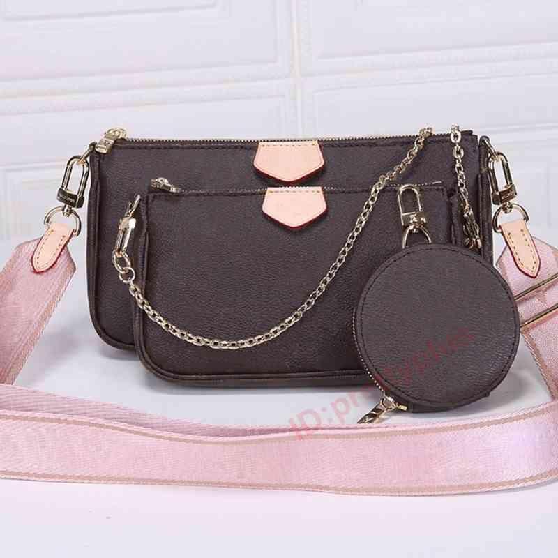 Womens Luxurys Designer Mode M80091 Crossbody Brieftasche Rucksack Handtaschen Geldbörsen Kartenhalter Handtasche Schulter Tragetaschen Mini Bag Brieftasche