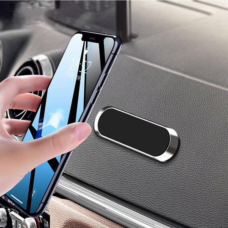 Универсальный магнитный автомобильный держатель телефона для iPhone 7 6S 5S 8 Xiaomi Huawei Hoawei Держатель телефона Приборная панель Настенный подставка на стену Магнит Наклейка в машине
