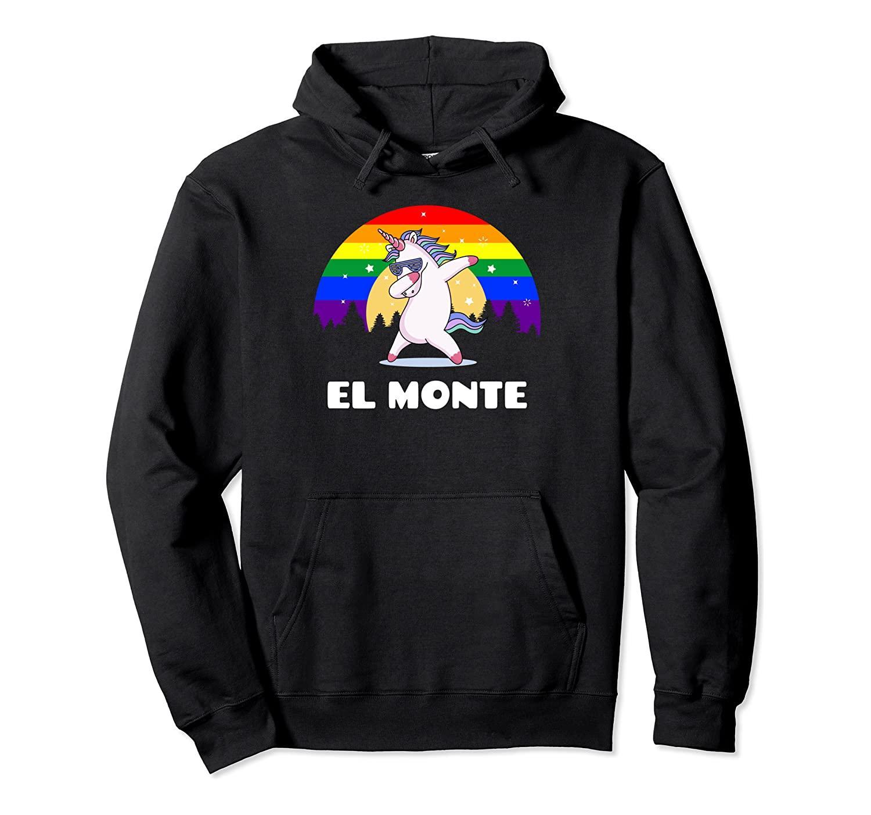 El Monte California - LGBTQ Homosexuell Pride-Regenbogen-Kapuzenpulli Unisex Größe S-5XL mit Farbe Schwarz / Grau / Navy / Royal Blue / Düster Heather