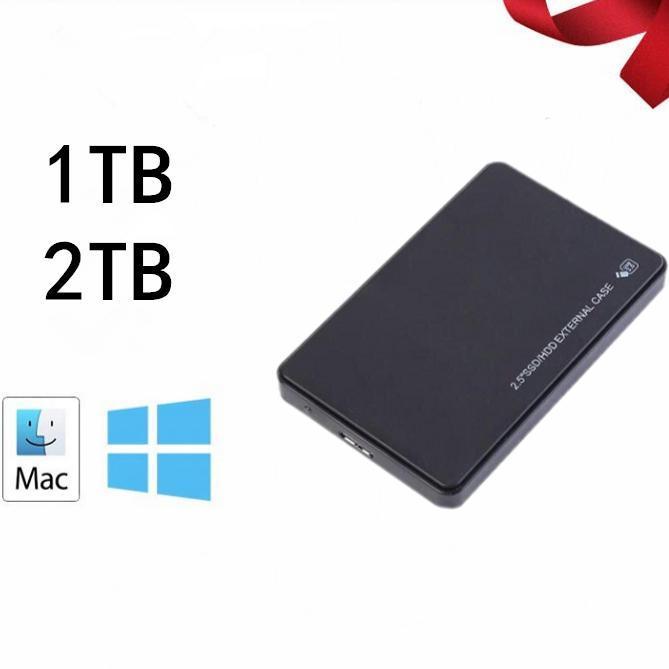 2.5 Mobile 1TB 2TB Hard Disk USB3.0 SATA3.0 HDD DISCO DURO EXTERNO DURCUROS DUROS EXTERNOS PARA LOPTOP / MAC / XB