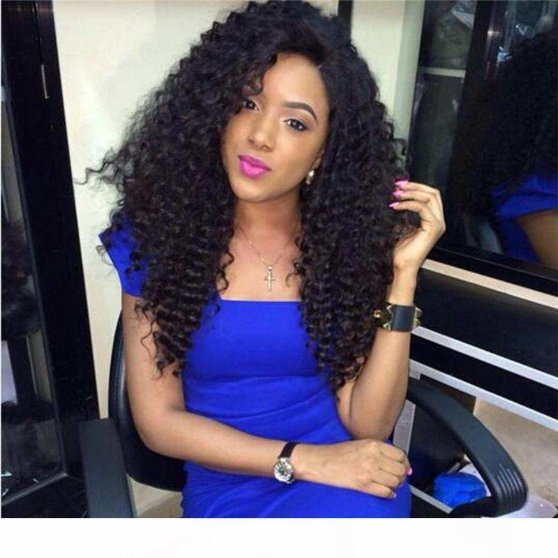 Full Lace Human Hair Wigs For Black Women Peruvian Virgin Hair Wig Kinky Curly Lace Front Human Hair Wigs Glueless Full Lace Wigs