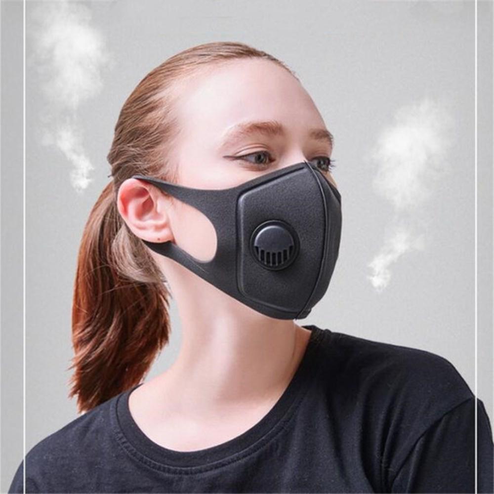 Anti-fumaça Designer Esponja Máscara Facial PM2.5 anti-poeira respirador anti-fog para Ciclismo Mtb 3.0 respiratória ValveG3ATK722