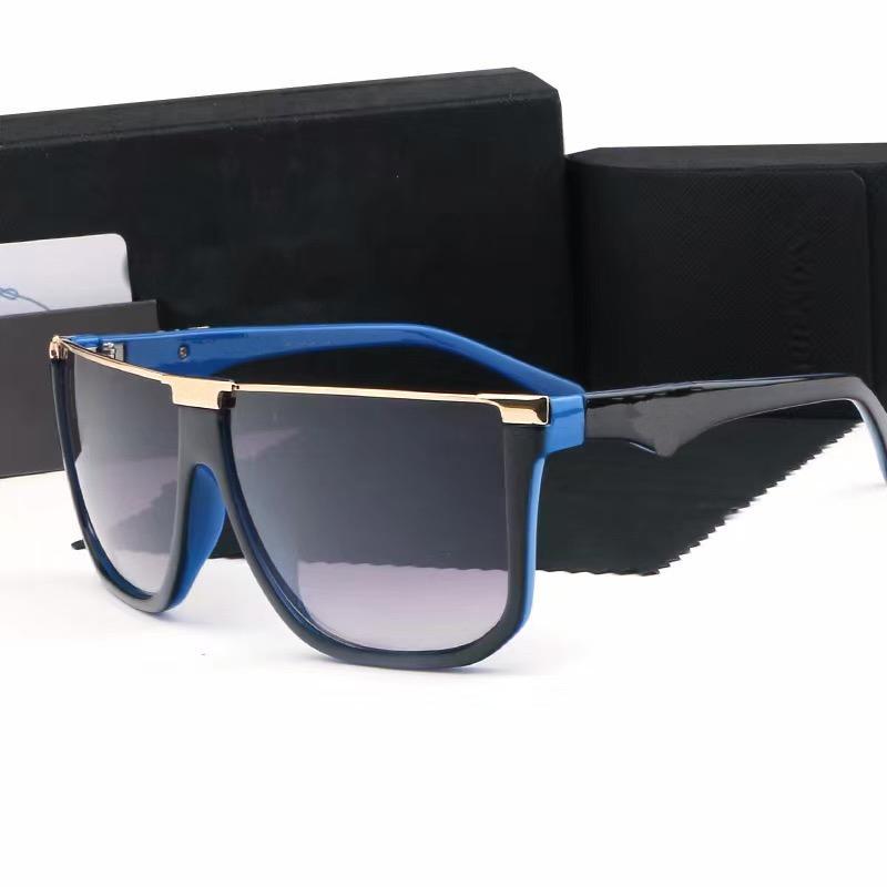 Новые женщины Солнцезащитные очки Oculos Escros de Grife Mens Дизайнеры Солнцезащитные очки Occhiali Da Sole Buffalo Horn Groundes Lunettes de Soleil 20110602L