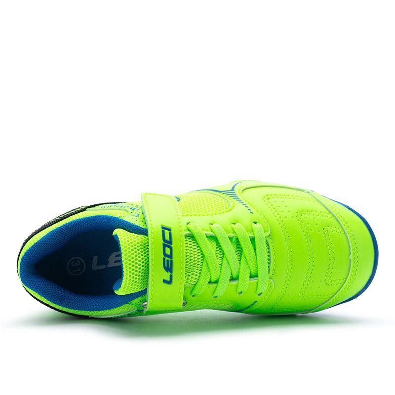 Дети Размер 28-35 Обуви Удобная для маленьких мальчиков футбол кроссовок легких футбольных тренировок Boots 9022R