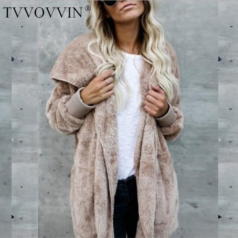 Women's Jackets Large Size S-5XL Faux Fur Teddy Bear Coat Jacket Women Loose Casual Corduroy Fashion Tops Woman F931
