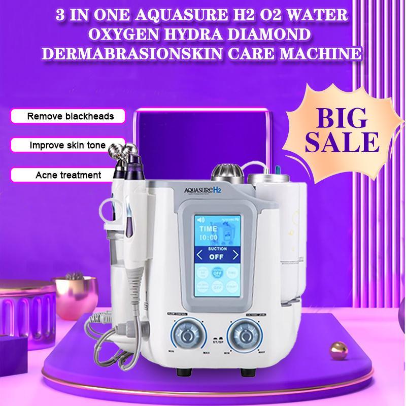 6 в 1 HydraFacial Aquasure H2 Глубокое очищение ультразвуковой портативный аппарат для салона и дома