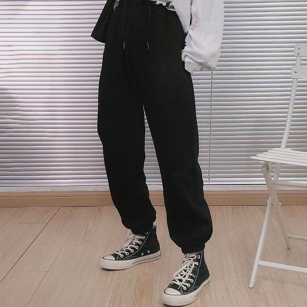 Мужские Joggers Брюки Повседневная Брюки Хип-Хмель Унисекс Брюки Модные Спредиты Полосы Паналлированный Карандаш Джоггер Брюки Азиатский Размер Te2a
