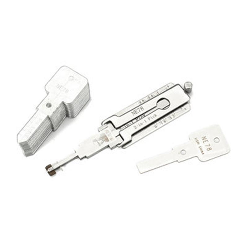 Ne78 2 in 1 auto serratura serraggio prelievo decoder sblocco strumento strumenti di fabbro