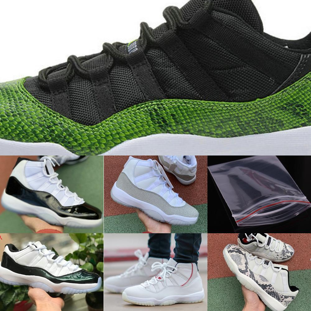 2020 New Concord Hoch 45 11s Bred Männer Basketball preiswerte Frauen Cool Gray-Kappen-Kleider Prm Heiress Gym Red Chicago Retroes 11 Trainer Shoes2XS22XS2