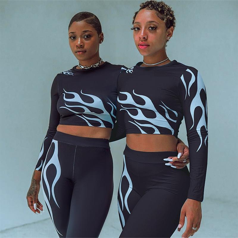 SN41 Dikişsiz Yoga Takım 2 Parça Spor Egzersiz Kırpma Üst Dikişsiz Tayt Spor Seti SH190914 Giysi Spor Gömlek Eşofman Seti Femme Spor Salonu