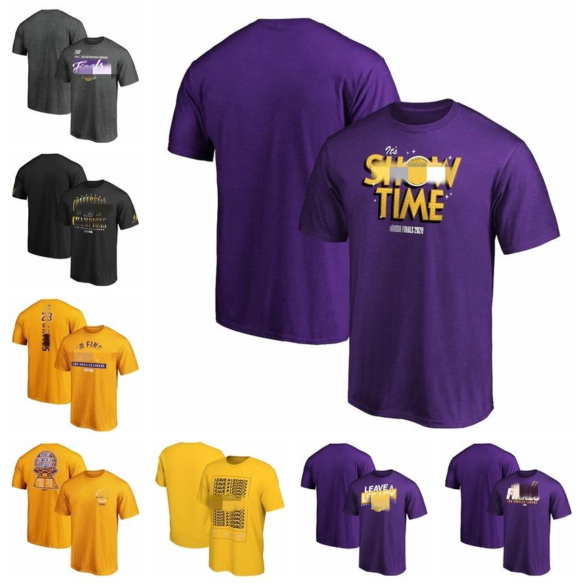 Los AngelesLakersMen Women Youth Fanatics Branded 2020 Western Conference Champions Locker Room Basketball T-Shirt