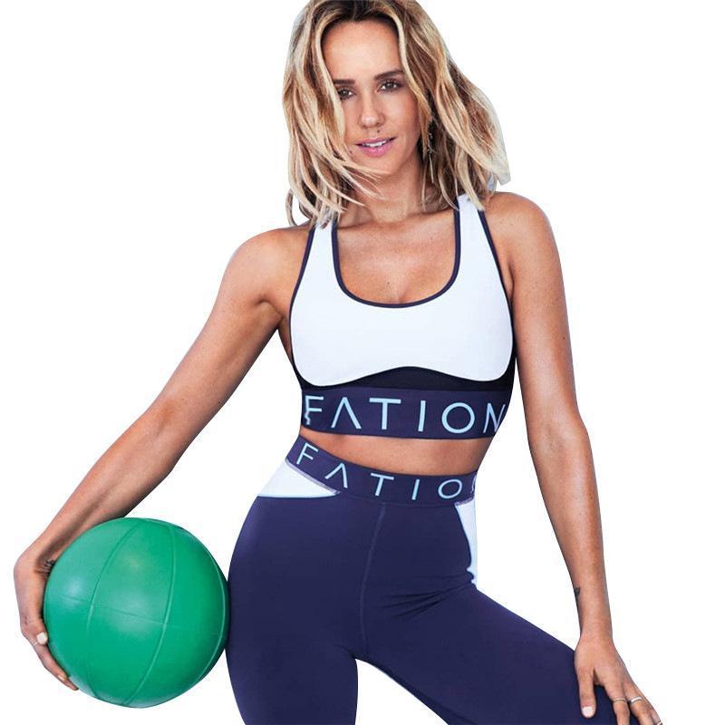 2020 Trainingskleidung für Frauen Sport Anzug 2 Stück Yoga Set Frau Running Gym Fitness Sport Anzug Weibliche Training Kleidung Sportswear