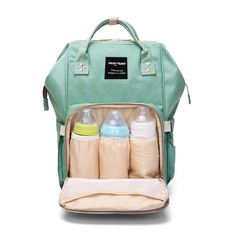 Сумки подгузника LazyChild Большая емкости сумка Рюкзак Водонепроницаемая материнское младенца Мумия Путешествия для прогулки