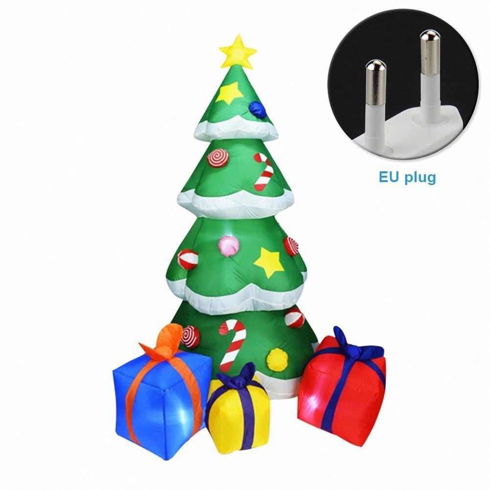 2,1 M interior para niños al aire libre Juguete del árbol de Gas Modelo fiesta llevó la Navidad inflable Yard regalo la decoración del hogar robusta Partido Vh36 #