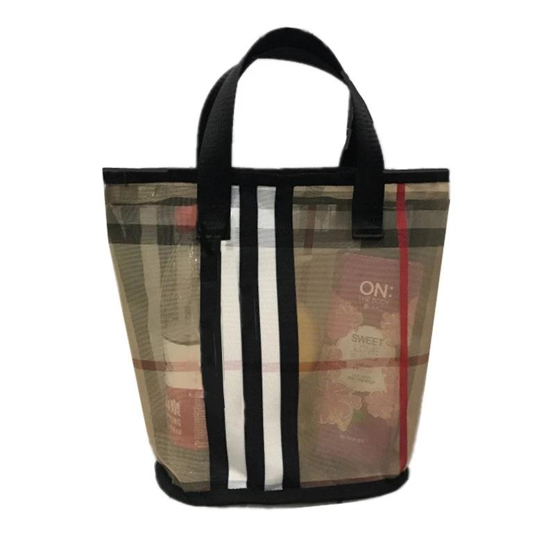 Женщины прозрачные мытья ведро YOGODLNS Верхние сумки макияж туалетная комплектация сумка для хранения туалетной камеры маленький косметический пляжный покупатель