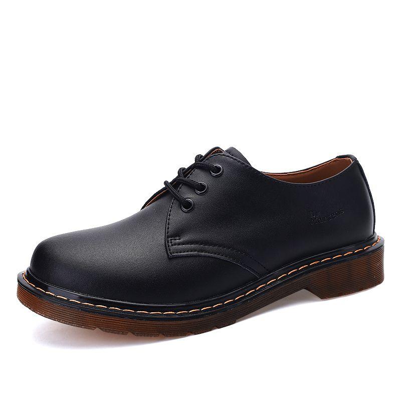 Homens homens Oxford Top Quality Dress Homens Flats Moda Genuine Leather Casual Trabalho Sapatos Grande Tamanho 38-45 201009