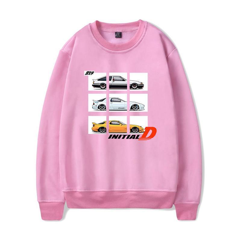 Sweats à capuche initiale Drift Imprimer Mode Hommes Femmes Capless Sweat-shirts à manches longues Casual sport unisexe Harajuku à capuche Hauts Pull