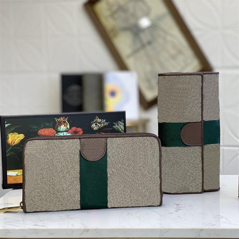 Diseñadores clásicos Bolsos Ophidia Passport Case Bolsa Bolsa de moneda monedero Titular de la tarjeta Hombres Mujeres Bolsos Montones de moda con caja