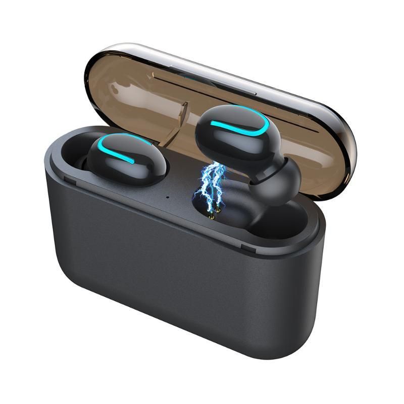 TWS Kablosuz Kulaklık S32 HD Stereo kablosuz Bluetooth 5.0 kulaklık Spor Su geçirmez TWS Kulaklıklar