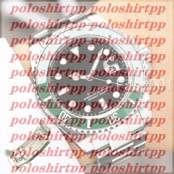 Glide Serrure de luxe Vert céramique Lunette New Mens mécanique SS 2813 Mouvement Montre Automatique Designer Sport Mode hommes Montres-bracelets
