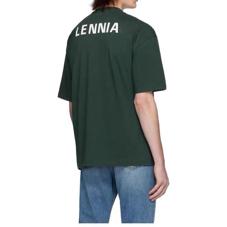 20ss 솔리드 컬러 티셔츠 다시 클래식 로고 편지 인쇄 티 남성 여성 여름 간단한 반팔 통기성 높은 거리 T- 셔츠 HFYMTX648