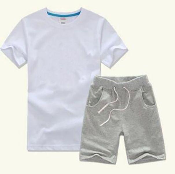 2019 Hot Sell Classic New Style 2-9 ans Vêtements pour enfants pour garçons et filles costume sportif bébé bébé manches courtes vêtements enfants