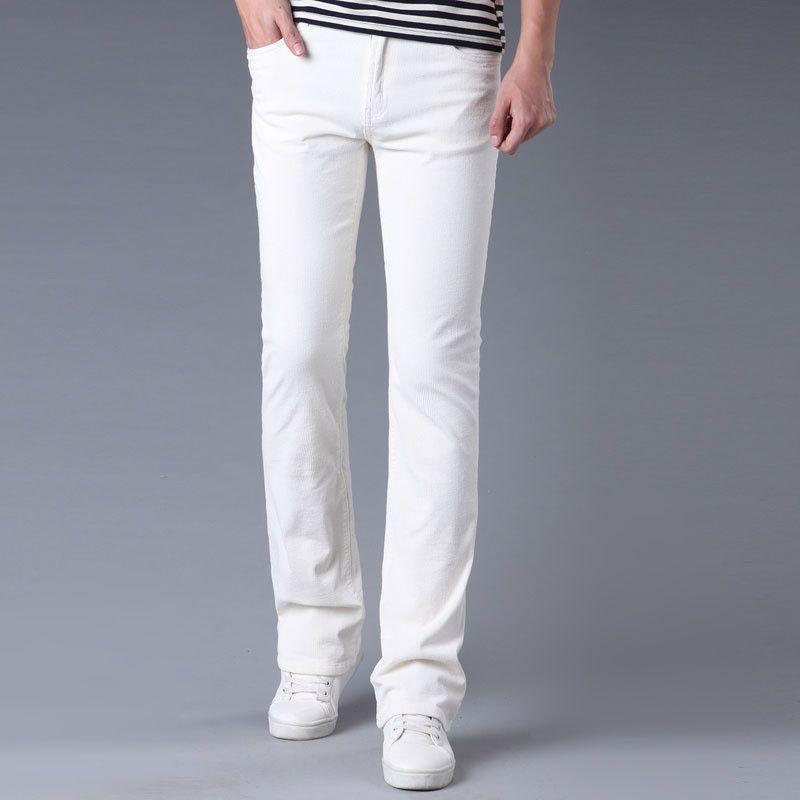 и осень весенний повседневный мужчина Brem Microcorduroy Deep-Bell Corduroy корейская версия растяжения длинноногие брюки ZY9P
