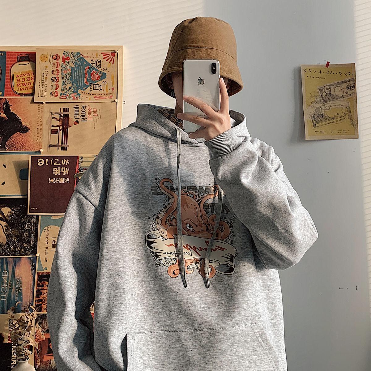 Privathinker drôle Imprimé Les Hoodies 2020 Mode Automne hommes hoodies 7 couleurs Femme Streetwear overs Casual
