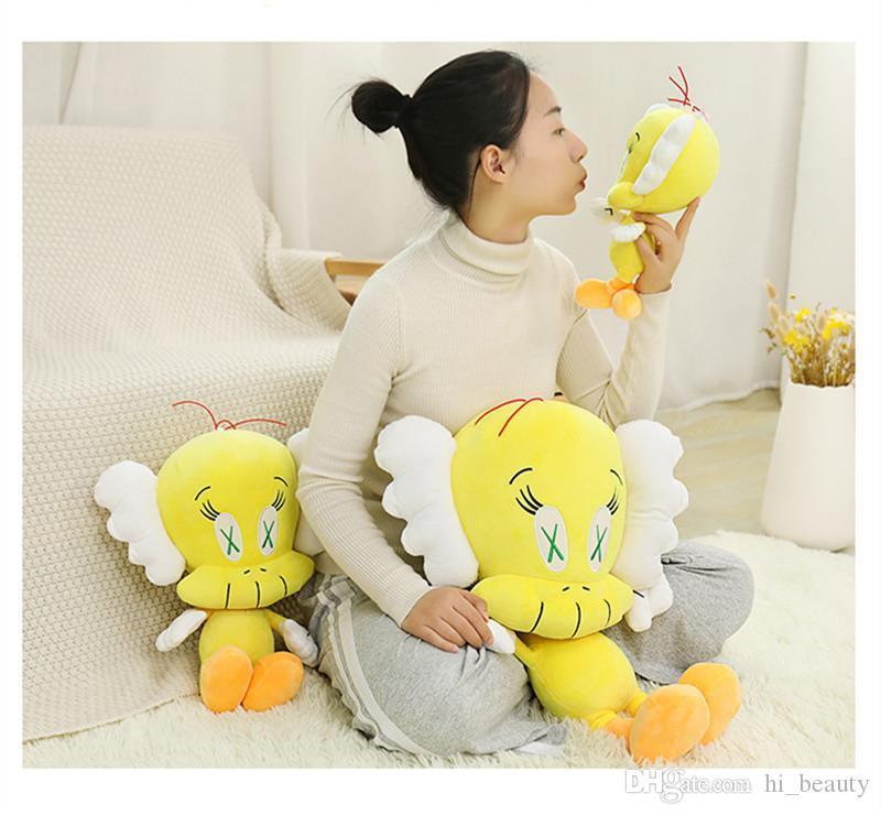 Mandkaws Co Branded Cui di Peluche Bambola Bambola Moda Brand Same Style Cuier Bird Doll Regalo Girl Peluche Giocattolo