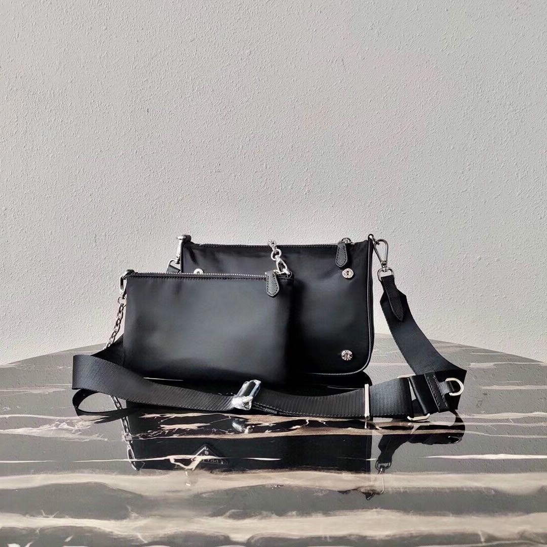 Tote Set Мода мода Двухместный набор наплеч Сумка женская сумка Пресбиопский кусок мужчин Холст мини сумочка дама для Messenger 2 Satchel Package Cross BO DBNW