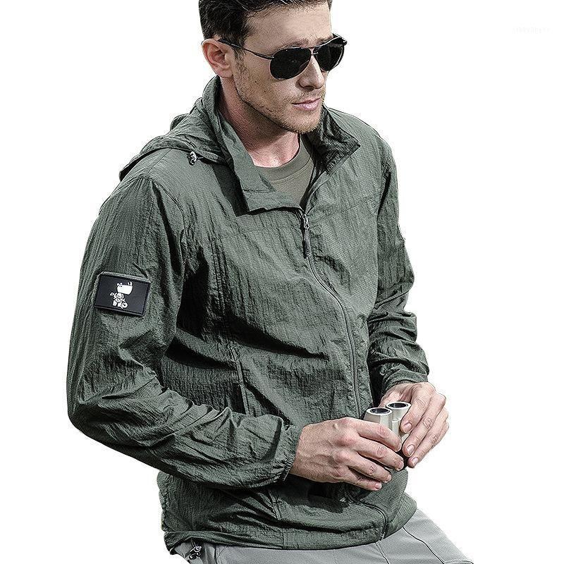 Trendy Wasserdichte Taktische Mantel Männer Herbst Dünne Baumwolljacke Mit Kapuze Pilot Outdoor Casual Outwear Männliche Kleidung1