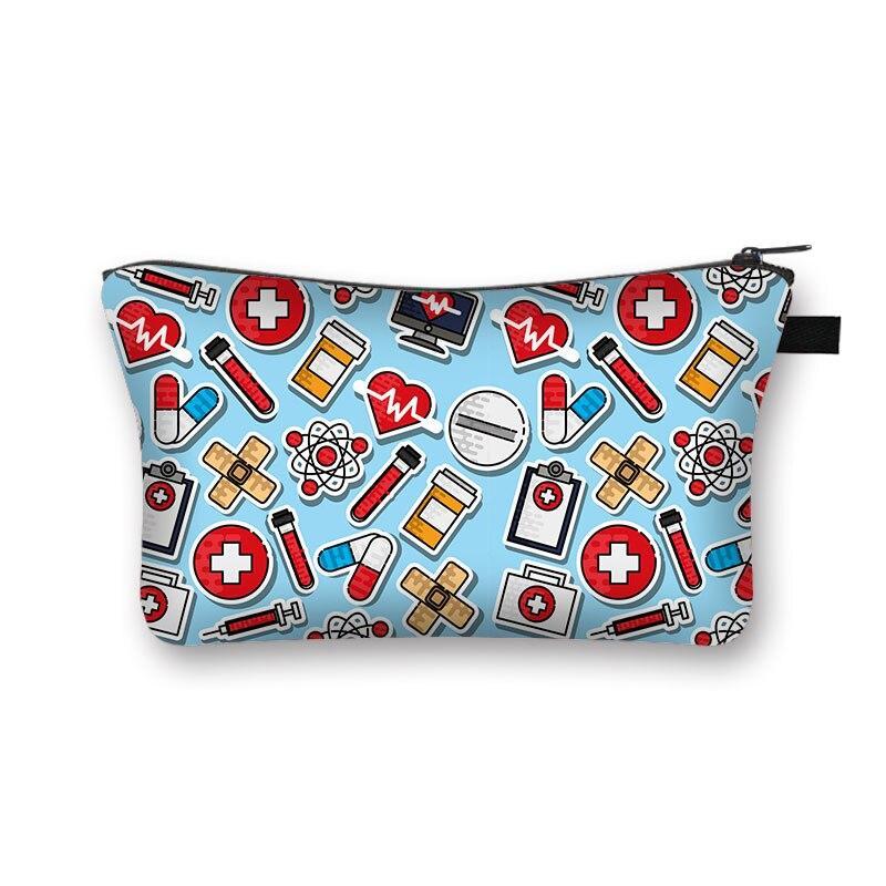 Neue Krankenschwester Kosmetiktaschen Schöne lässige Reise Handtaschen Make-up-Tasche Taschen Taschen