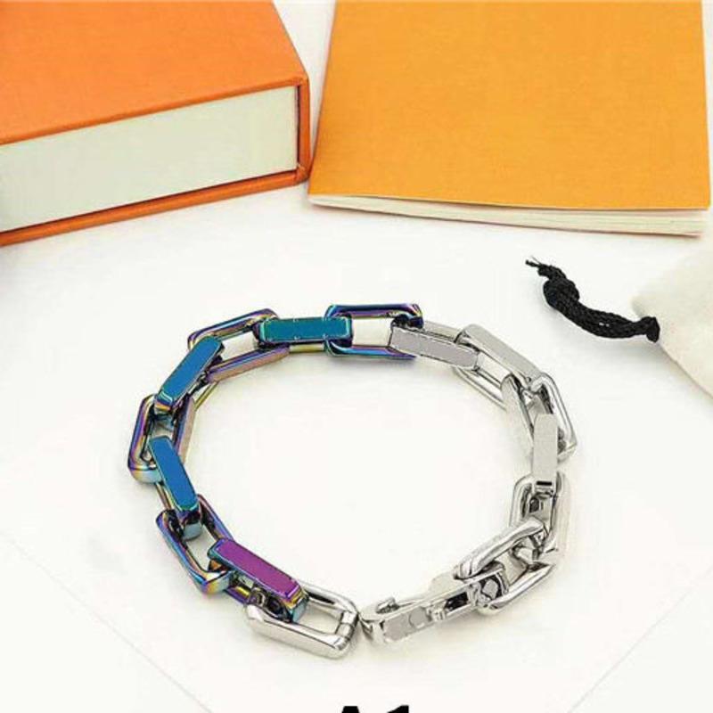 Heißer Verkauf Unisex Armband Mode Armbänder Für Mann Frauen Schmuck Einstellbare Kette Armband Modeschmuck 5 Modell Optional