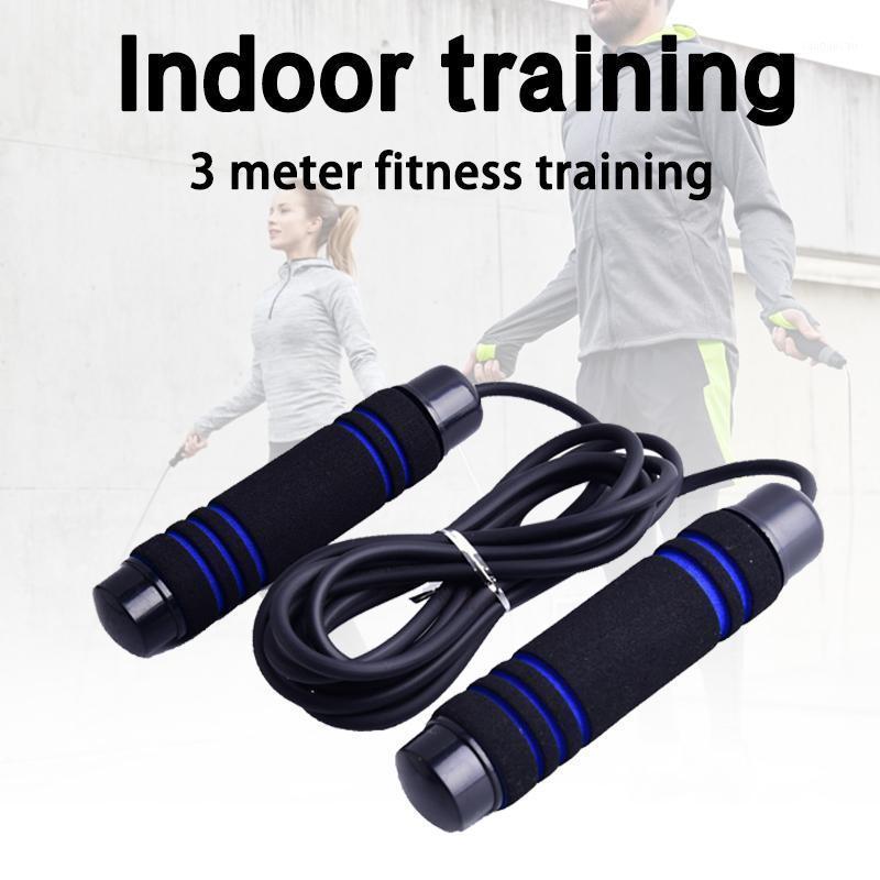 Cuerdas de salto de 3 métricos calientes que saltan cable de cuerda para ejercicio de entrenamiento de fitness deportes N661