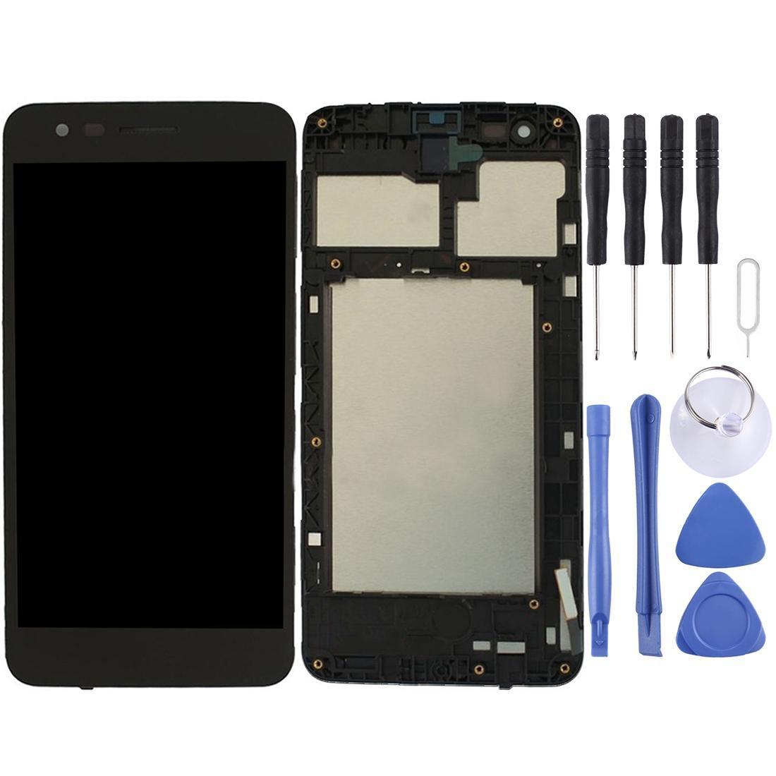 Pantalla LCD y digitalizador Asamblea con marco completo para LG K4 2017 M160