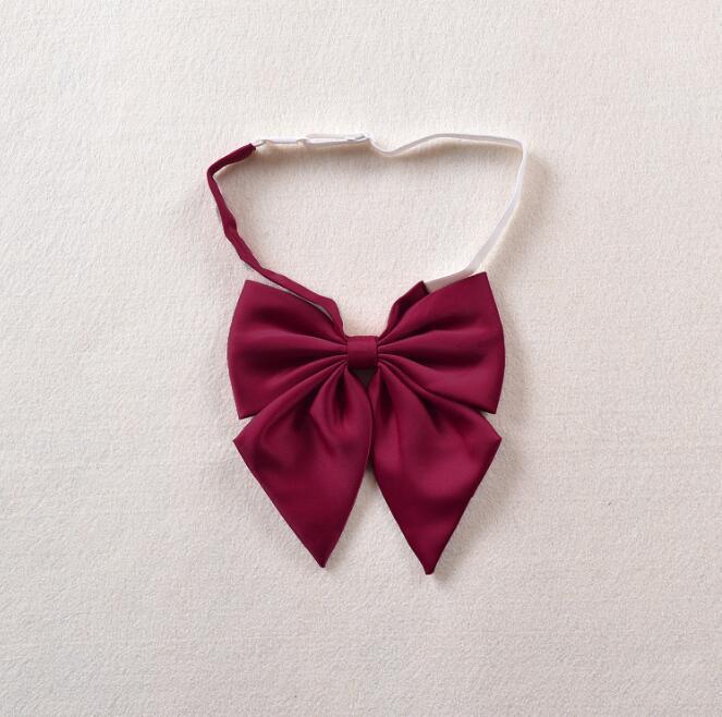 10 unids / lote Lazos de arco caliente para las mujeres de negocios sólidos Casual Cross Cross Tie Vestido formal Cuello de boda Cruz Silk Bowtie1