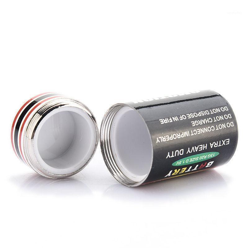 4.5 * 2.4 سنتيمتر جديد المخفية المال العملات حاوية حالة البطارية سر خبأ تحويل صناديق تخزين البطارية الآمن 1