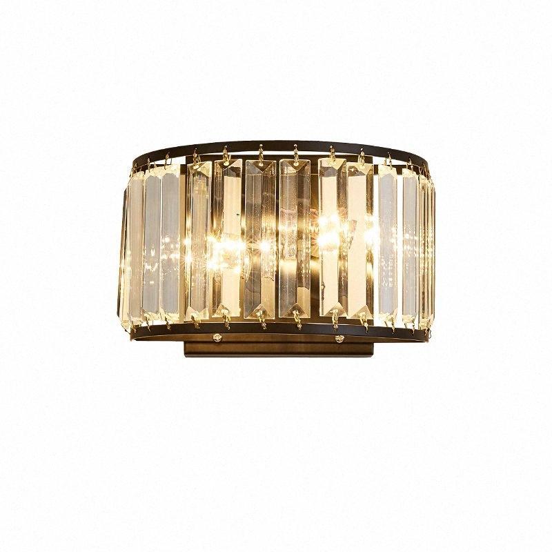 Moderne LED-Kristall Wandleuchte Wandleuchten luminaria Wohnraumbeleuchtung Wohnzimmer Licht Lampenschirm für Dekoration dBRx #